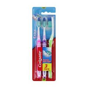 Colgate 3 PK Extra Clean Toothbrush