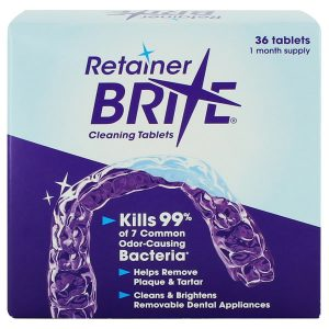Retainer Brite Cleaning Tablets