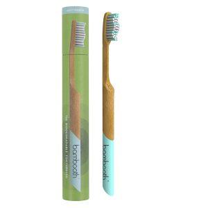 Bambooth Medium Bamboo Toothbrush – Aqua Marine