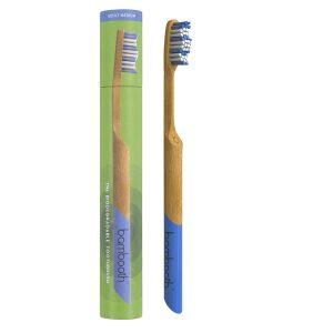 Bambooth Medium Bamboo Toothbrush – Sea Blue