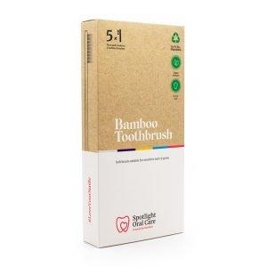 Spotlight Bamboo Toothbrush Multipack